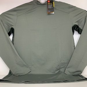 Under Armour Fitted Long Sleeve Shirt Men's Large